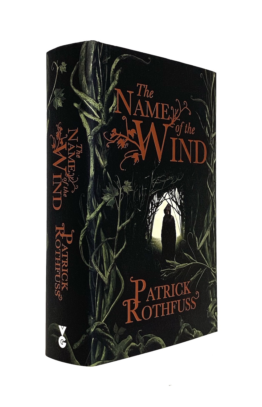Image for THE NAME OF THE WIND - Signed & Lined UK First Edition.