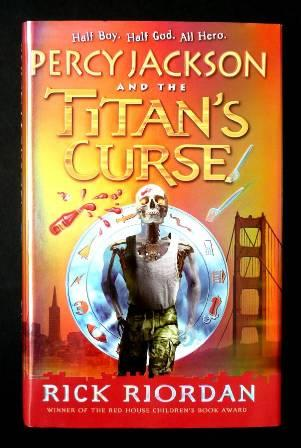 Image for PERCY JACKSON AND THE TITANS CURSE Un-signed UK First Edition (Limited Stock)