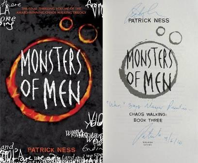 Image for MONSTERS OF MEN Signed, Lined & Dated UK First Edition