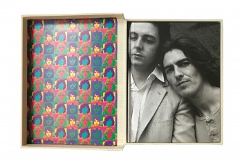 Image for A DAY IN THE LIFE OF THE BEATLES - Hardback in Presentation Tray-case. First Edition. Plus Beatles Print.