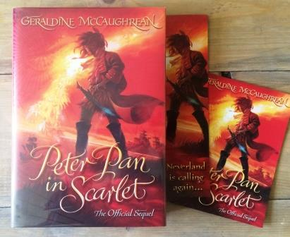 Image for PETER PAN IN SCARLET Signed Second Print Plus Promos