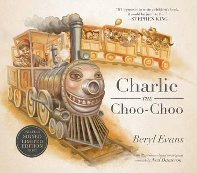 Image for Charlie The Choo Choo -Limited edition presented in a slipcase includes a Signed Limited Edition Print
