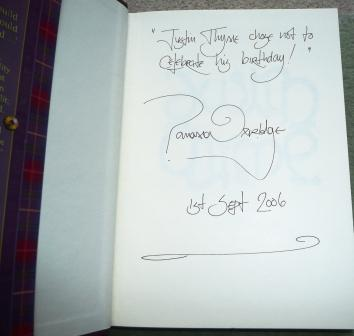 Image for JUSTIN THYME Signed, First Lined & Dated UK First Edition