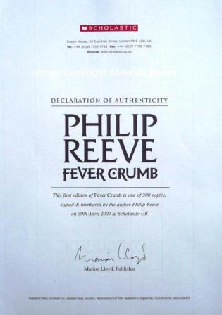 Image for FEVER CRUMB Signed, Numbered & Stamped First Edition plus Postcard