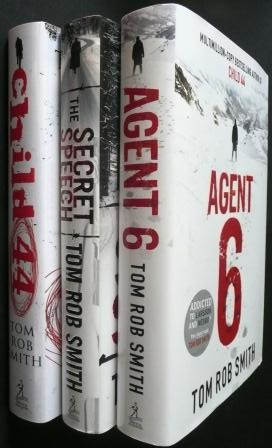 Image for CHILD 44, THE SECRET SPEECH & AGENT 6 - Signed & Lined First Edition Set.