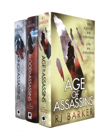 AGE OF BLOOD OF KING OF ASSASSINS 3 Signed Numbered Limited Editions