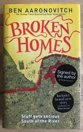 Image for BROKEN HOMES - Waterstones First Edition with Bonus Short Story. Signed by the author.
