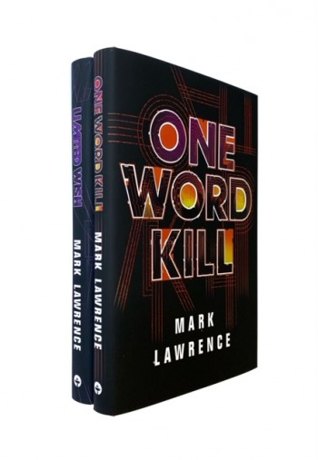 Image for ONE WORD KILL & LIMITED WISH Signed & Numbered First Edition Matching Numbered Set