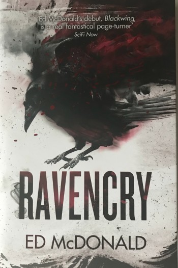 Image for RAVENCRY - Signed & Numbered First Edition with Red Sprayed Page Edges.