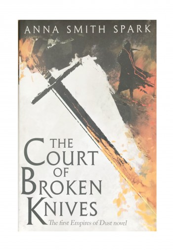 Image for THE COURT OF BROKEN KNIVES - Signed, Lined & Doodled First Edition.