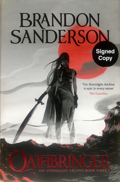 Image for OATHBRINGER - Signed First Edition