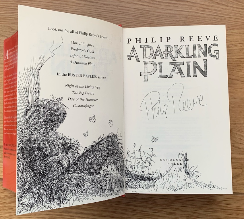 Image for A Darkling Plain - Remarqued & Signed First Edition