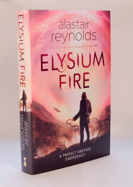 Image for ELYSIUM FIRE Signed & Numbered UK First Edition