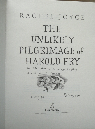 Image for THE UNLIKELY PILGRIMAGE OF HAROLD FRY Signed, Lined & Dated First Edition