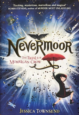 Image for NEVERMOOR Signed First Edition plus Badge, Bookmark & Door hanger.