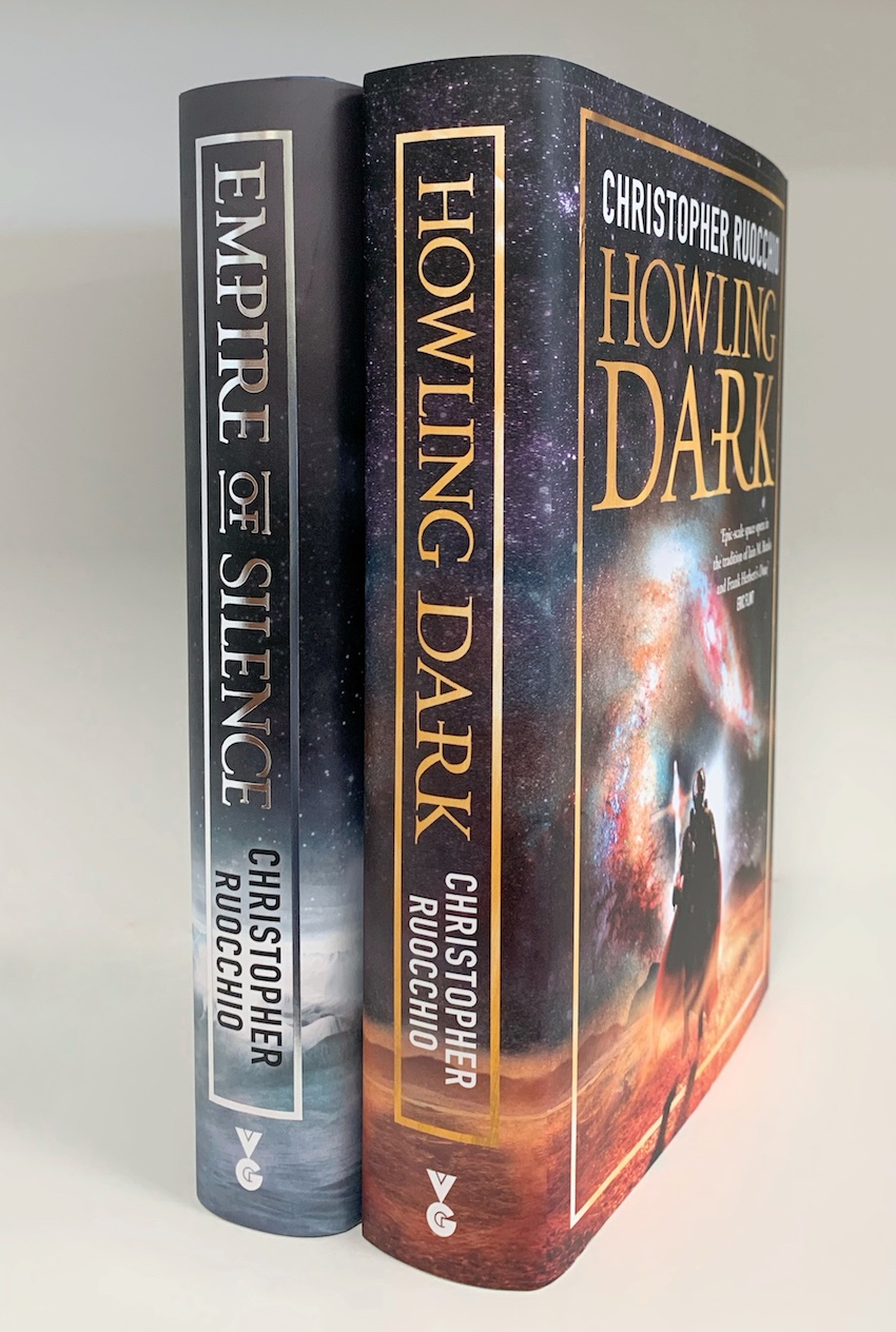 Image for Matching Numbered Set : EMPIRE OF SILENCE & HOWLING DARK. Signed & Numbered Limited Editions.