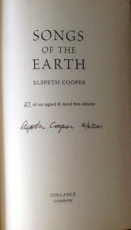 Image for SONGS OF THE EARTH,TRINITY RISING & THE RAVEN'S SHADOW Signed & Numbered UK First Editions. Numbered.