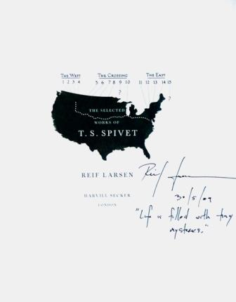 Image for THE SELECTED WORKS OF T. S. SPIVET Signed, Lined & Dated UK First Edition plus Promotional Map/Chapter Sampler