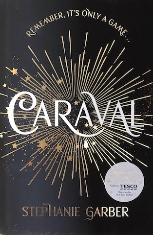 "Image for CARAVAL Signed, Lined & Doodled UK First Edition. Rare Tesco ""Top Hat"" Secret Hidden Cover."