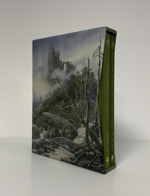 Image for THE LORD OF THE RINGS & THE HOBBIT Signed Limited Edition Sketchbook