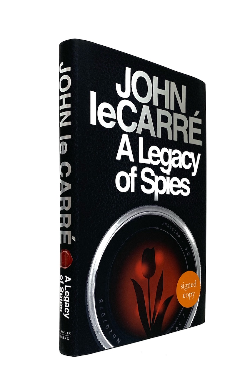 Image for A LEGACY OF SPIES - Signed First Edition