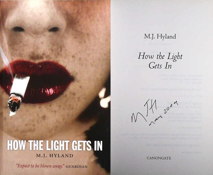 Image for HOW THE LIGHT GETS IN Signed & Dated UK First Edition