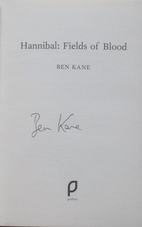 Image for Hannibal: Fields of Blood, Signed First Edition