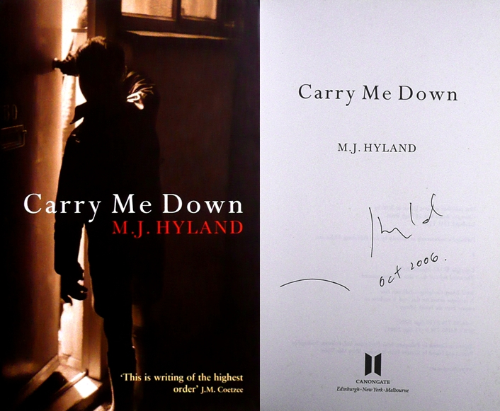 Image for CARRY ME DOWN Signed & Dated UK First Edition