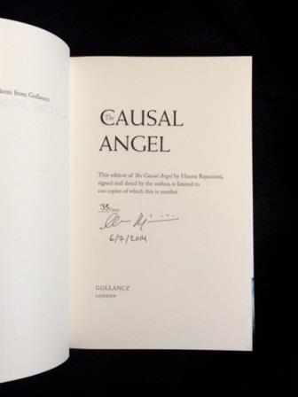 Image for THE CAUSAL ANGEL Signed, Dated & Numbered