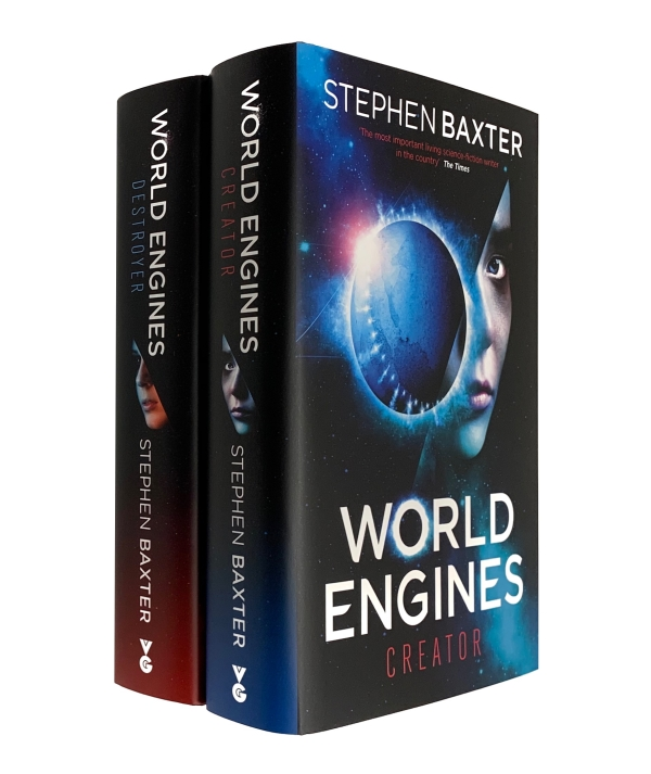 Image for THE WORLD ENGINES DUOLOGY: DESTROYER & CREATOR Signed & Numbered First Editions