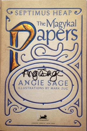 Image for THE MAGYKAL PAPERS Signed First Edition