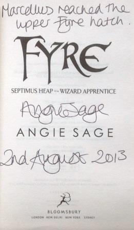 Image for FYRE - Signed, Lined & Dated First Edition.