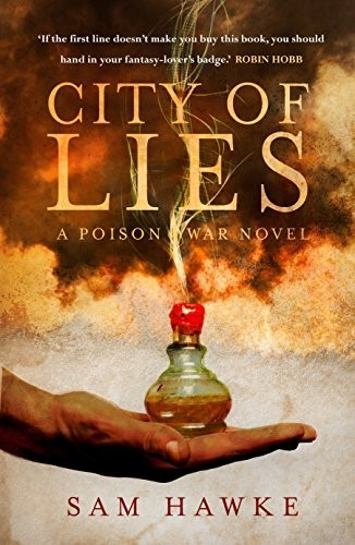 Image for CITY OF LIES Signed First Edition