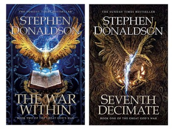 Image for SEVENTH DECIMATE & THE WAR WITHIN Set of 2 Matching Signed & Numbered First editions