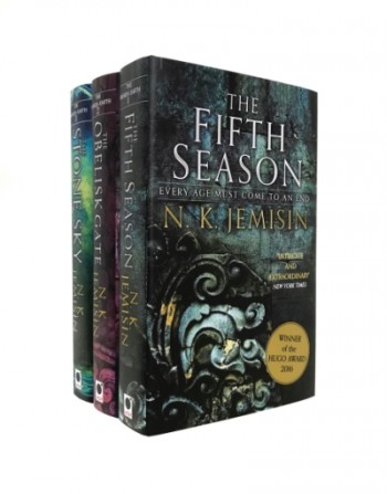 Image for THE BROKEN EARTH TRILOGY : The Fifth Season, The Obelisk Gate & The Stone Sky - Signed & Numbered Ltd Editions