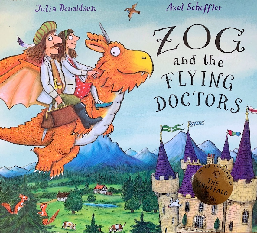 Image for ZOG AND THE FLYING DOCTORS - Double Signed, Dated, Located & DOODLED First Edition