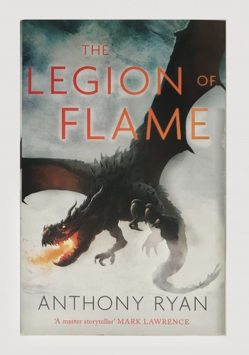 Image for THE LEGION OF FLAME - Signed, Lined & Dated First Edition.