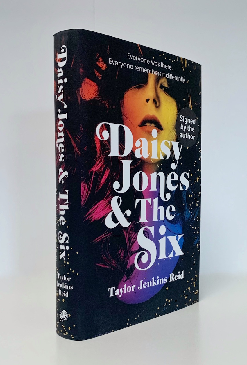 Image for DAISY JONES & THE SIX - Signed First Edition with Black Page Edges.