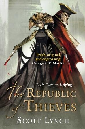 Image for THE REPUBLIC OF THIEVES - Signed & Lined plus Bookmark & Postcard