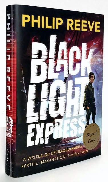 Image for BLACK LIGHT EXPRESS - Signed,Lined & Dated First Edition.
