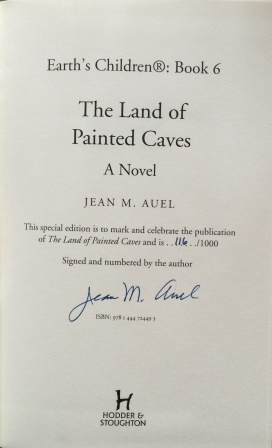 Image for THE LAND OF PAINTED CAVES Signed Limited Edition (Number 116/1000)