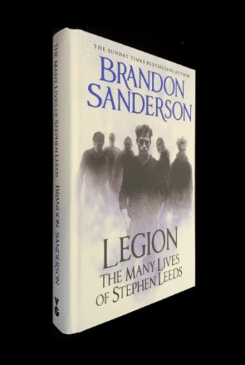 Image for LEGION: THE MANY LIVES OF STEPHEN LEEDS Signed & Numbered First edition