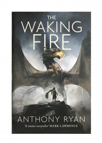 Image for THE WAKING FIRE - Signed, Lined & Dated First Edition
