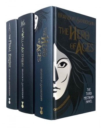 Image for THE MISTBORN TRILOGY (Final Empire,Well of Ascension & Hero Of Ages), 10th Anniversary Signed & Numbered