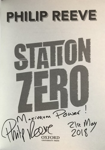 Image for STATION ZERO - Signed, Lined & Dated First Edition.