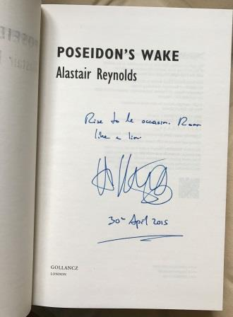 Image for POSEIDONS WAKE Signed, Lined & Dated UK First Edition