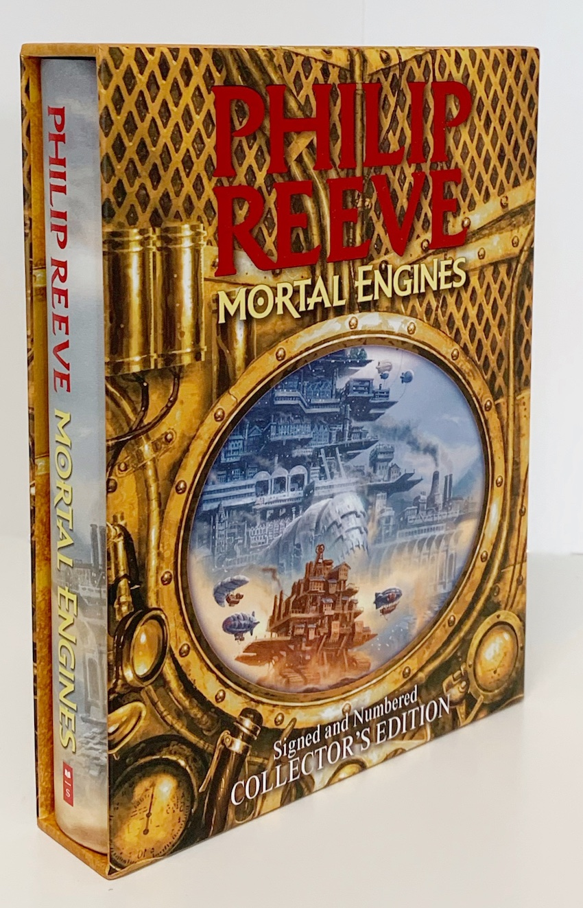 Image for MORTAL ENGINES Signed & Numbered Collector's Edition HAND DRAWN ILLUSTRATION.