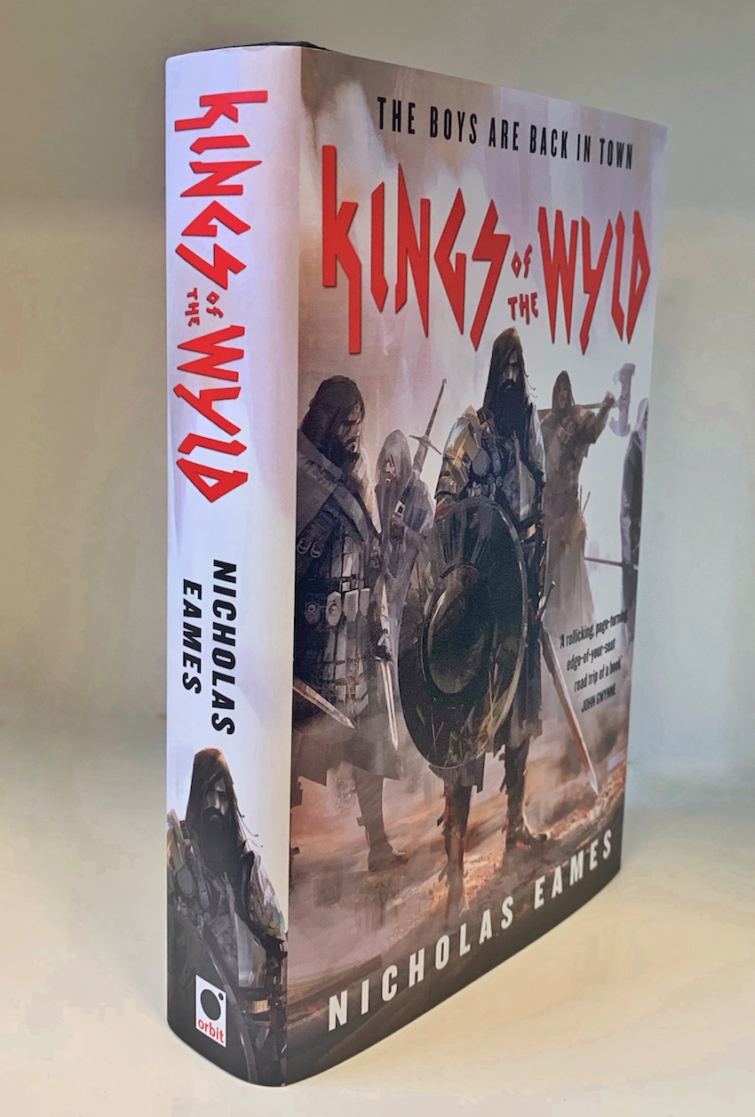 Image for KINGS OF THE WYLD Signed & Lined Hardcover (2nd Printing)