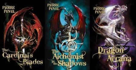 Image for THE CARDINALS BLADE'S TRILOGY (THE CARDINAL'S BLADES,THE ALCHEMIST IN THE SHADOWS, THE DRAGON ARCANA)Set of 3 Signed & Lined by the Author & Signed by the Translator. All First Editions