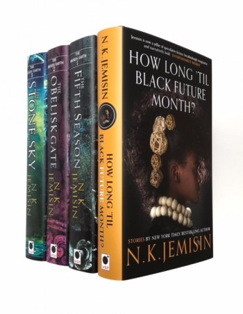 Image for Matching Set of 4 Signed Limited Editions - Broken Earth Trilogy and How Long 'til Black Future Month.